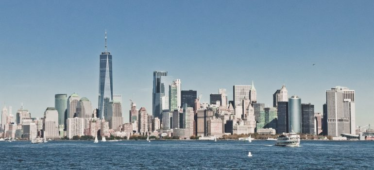 residential moving companies nj - a view of a city